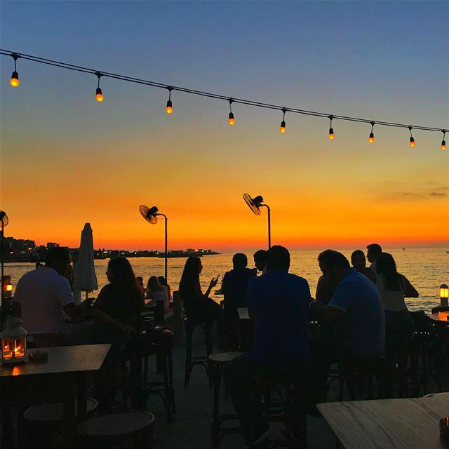 sunset nofilter bay lights 🌅 (Punta Del Este)