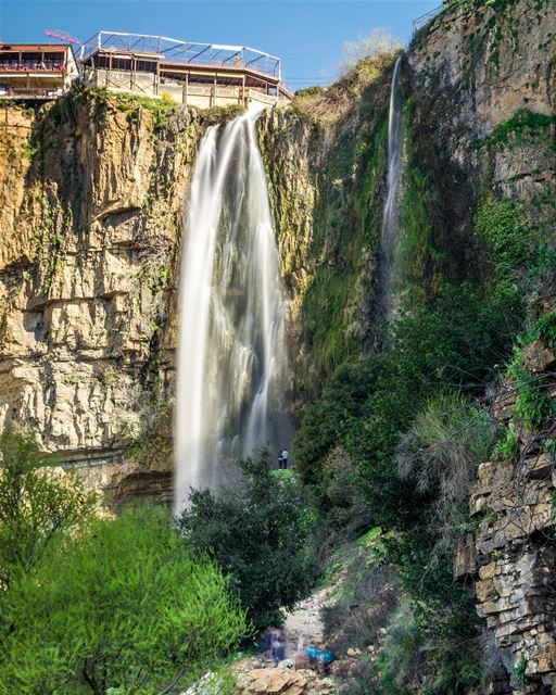 .Jezzine - The waterfall. One of the best places in Lebanon! Good evening... (Jezzîne, Al Janub, Lebanon)