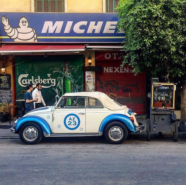 Hello Gorgeous 🦋🦋 ....... vwbeetle vwlover vwrocks vw ... (Mar Mikhael-Armenia The Street)