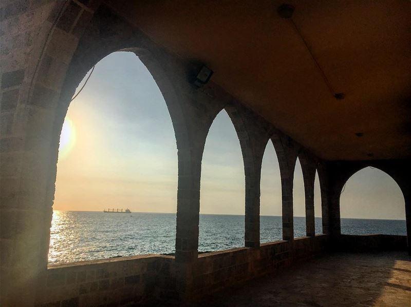 lady of the sea .. 🇱🇧 lebanon lebanon_hd lebanon_hdr batroun ... (Our Lady of the Sea)