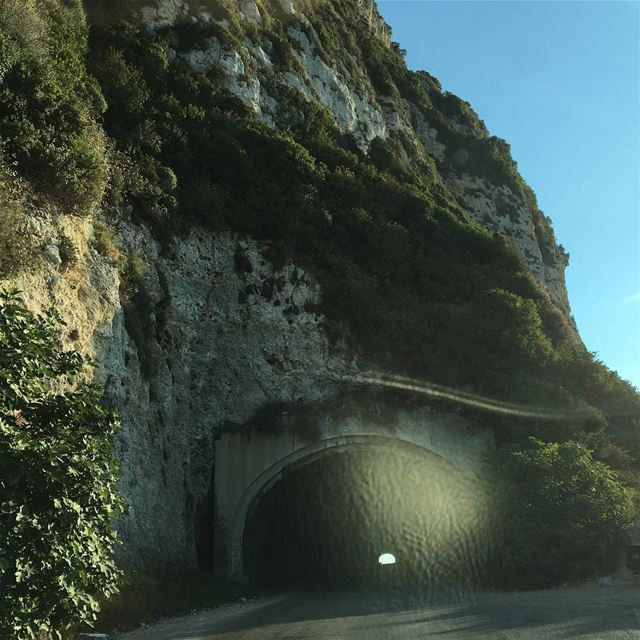 There is light at the end of every tunnel ..  lebanon  batroundistrict ... (Chekka)