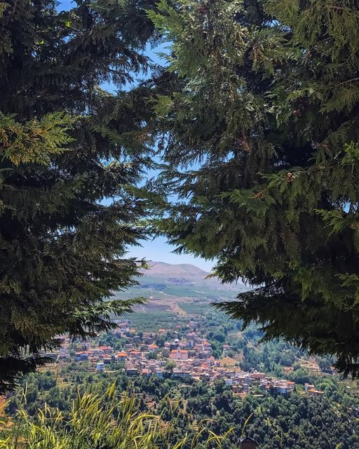 Trust in dreams, for in them is hidden the gate to eternity - Gibran... (Ehden, Lebanon)