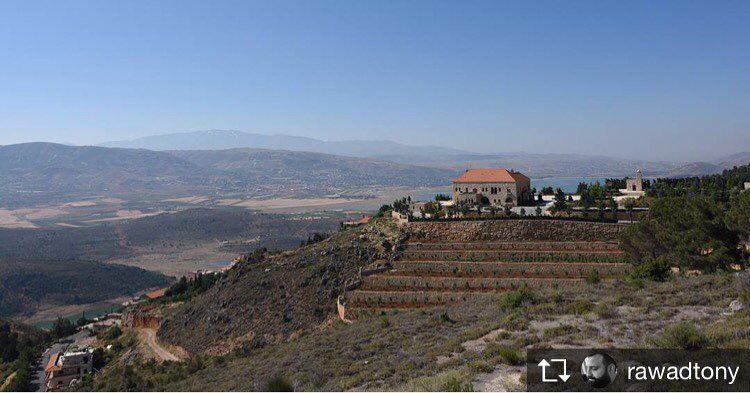 Repost from @rawadtony landscape lebanon visitlebanon2017 mountains ... (Saghbîne, Béqaa, Lebanon)