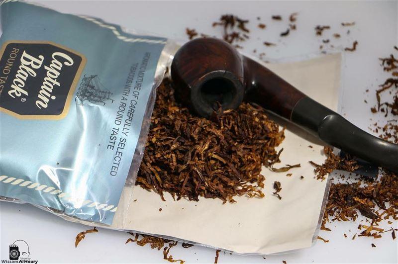 pipe pipesmoking tobaccopipe instapipe tobacco cabtainblack smoker smoke... (Beirut, Lebanon)