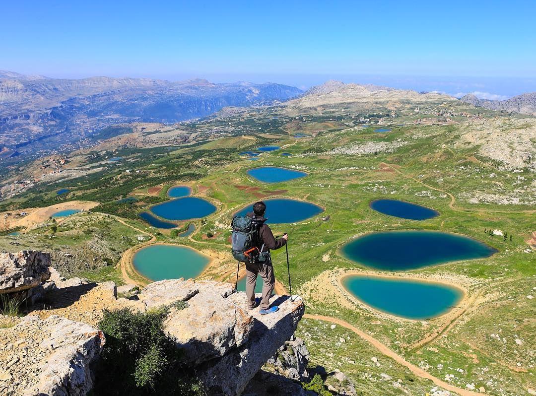 Endless beauty ... ✨ (Akoura, Mont-Liban, Lebanon)