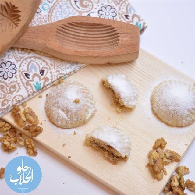 لان معمولنا اطيب معمول للعيد ! تنعاد عالجميع بالصحة والعافية 😍🤗😄😋 رمضا (Abed Ghazi Hallab Sweets)