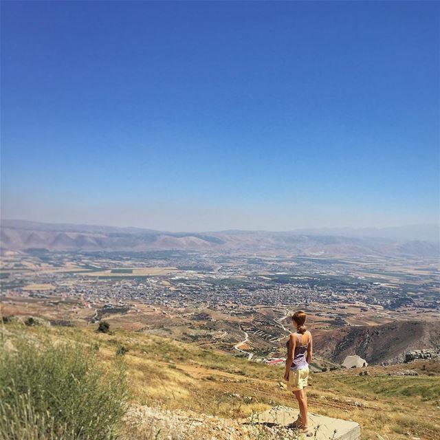 Bekaa from above - @vitalina.a LiveLoveBekaa LiveLoveZahleh ... (Zahlé, Lebanon)