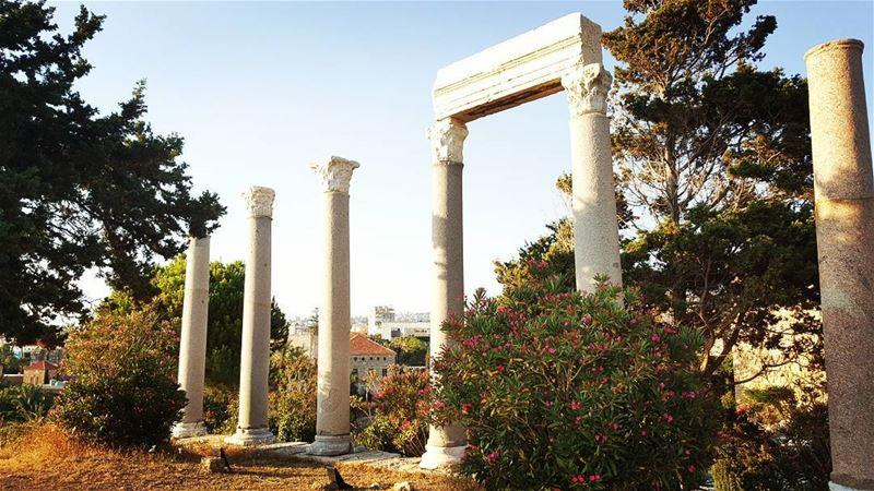 byblos romanarcheology history lebanon jbeil ...