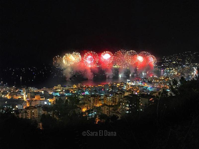 My Beautiful Bay! 🔥💥 ... (Jounieh Summer Festival)