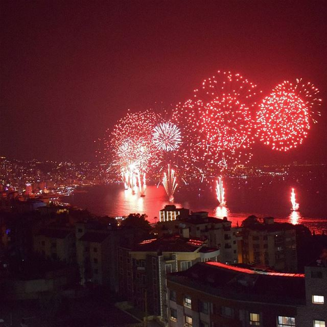 Let's Celebrate Summer 🎆.. livelovelebanon livelovebeirut ... (Jounieh Summer Festival)