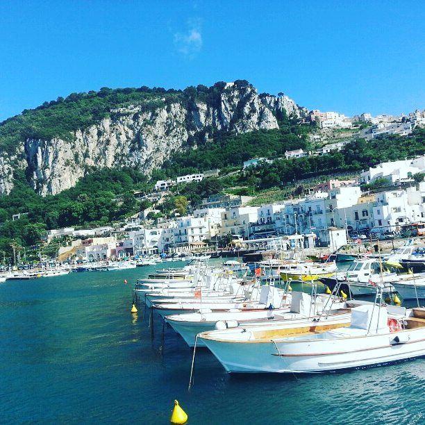 ▶From lebanon with love→ island islandlife green beach nature ... (Capri, Italy)