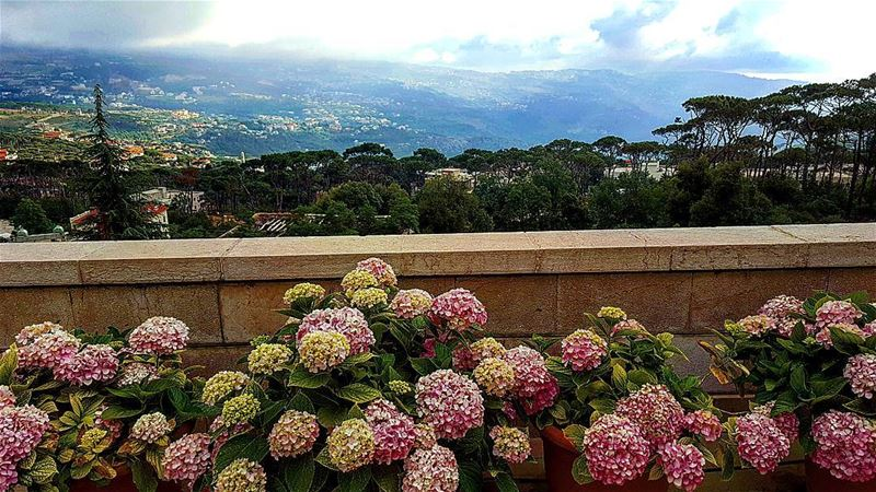 village mountains lebanon home scenery fresh ... (Al-Kalaa)