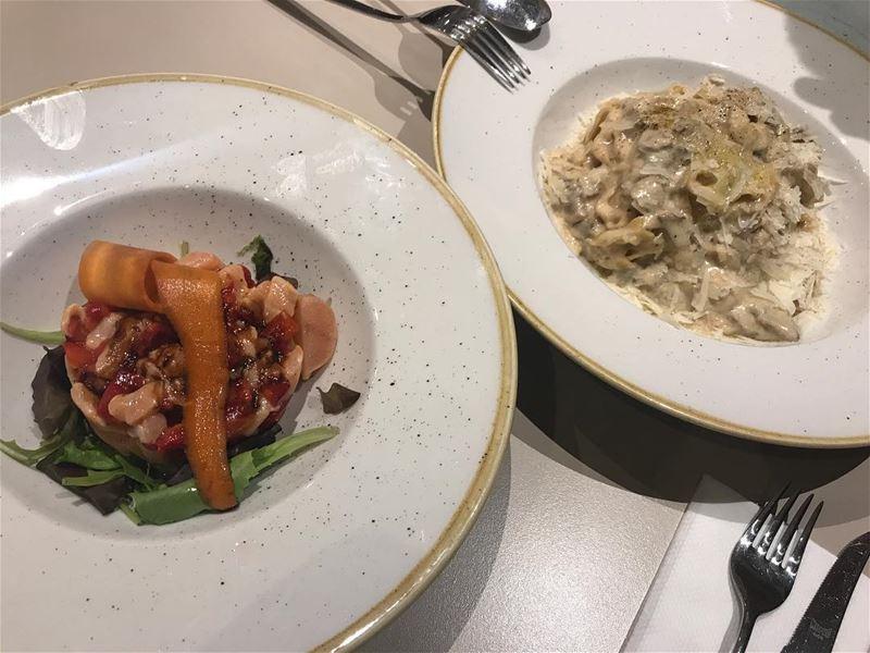 italian salmon pasta parmesan lebanon foodlover kitchen foodlove ... (Casa Dell'Olivo)