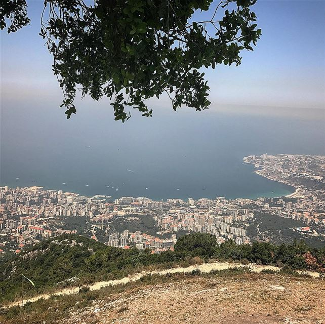 paragliding lebanon🇱🇧 like4like followforfollow livelovelebanon ... (جونية - Jounieh)