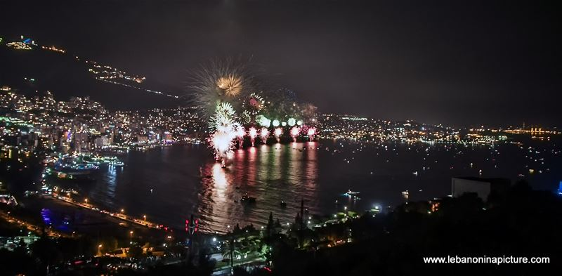 Jounieh Fireworks 2017 - Full Not Edited Video