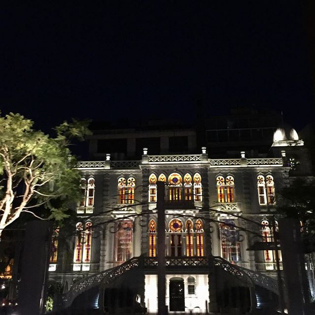 Splendid  Sursock 😍😍 A  Beirut  gem the  palace was gifted by Nicolas... (Sursock Museum)