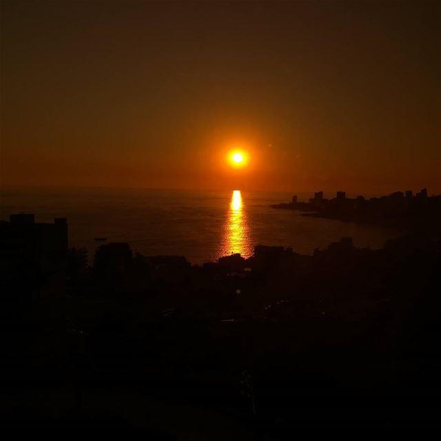 Sunset from Jounieh livelovelebanon proudlylebanese ...