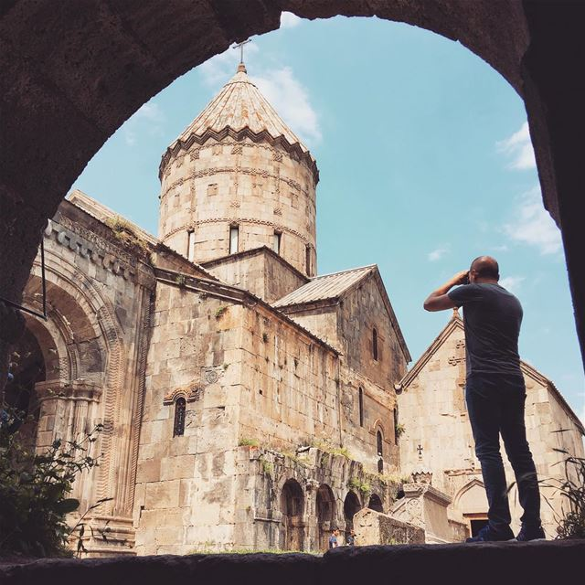 From Tatev with Love 💚...... globalcapture main_vision big_shotz... (The Monastery of Tatev)