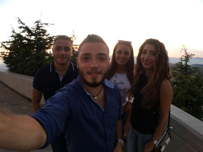 Ehden with them ❤️.. friends ehden sunday picoftheday liveloveehden... (Saydet El Hosn - Ehden)