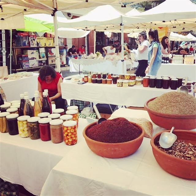 soukeltayeb in Jezzine this weekend for the Food & Feast festival... ...