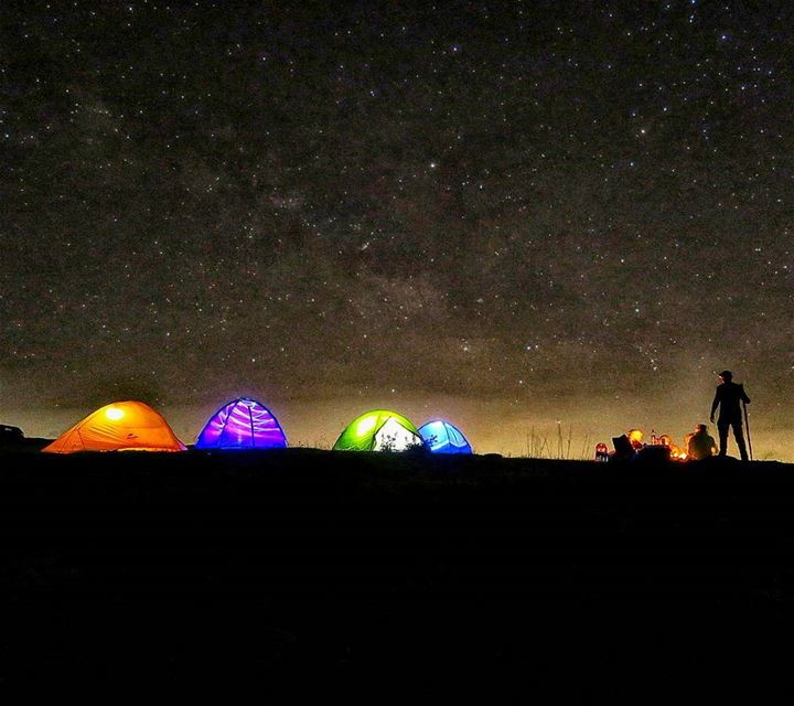 No more counting money, we'll be counting stars... camp stars campfire ...