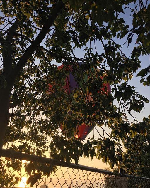@visitsaida for a Hot Air Balloon Ride, tonight after the Iftar and... (Bramiyé, Liban-Sud, Lebanon)