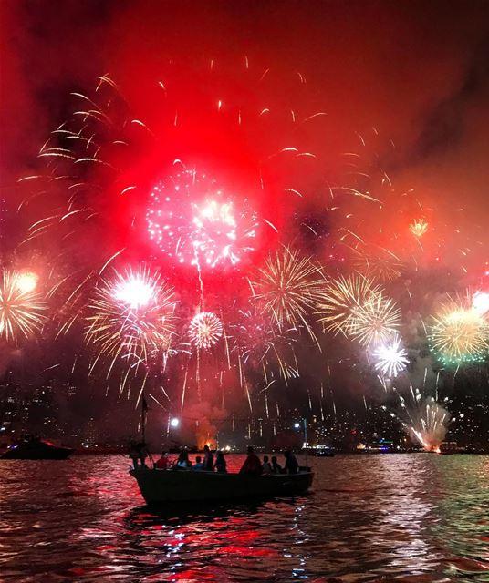 Let your colors burst 💥 Fireworks ... (جونية - Jounieh)