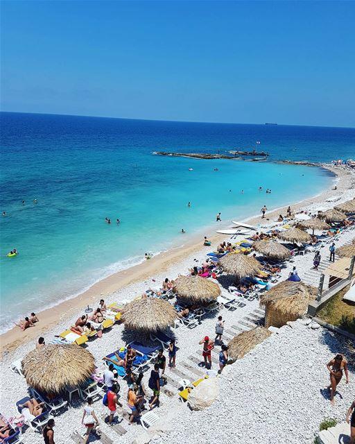 La vie en bleu! loves_lebanon super_lebanon ig_lebanon ... (Loco Beach Resort)