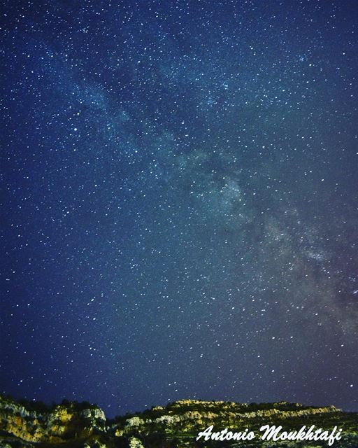 milky way ehden summer starts night nikon sky ehdennightlife ... (Heresh Ehden)