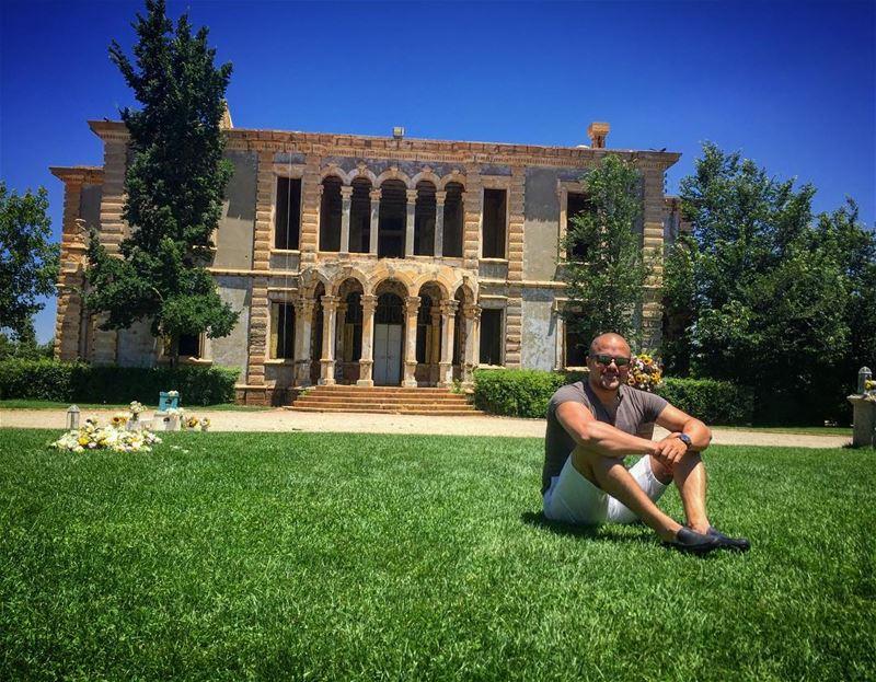 old but gold donamaria palace sawfar mylebanon❤️ (Sawfar, Mont-Liban, Lebanon)