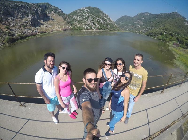 friends view lebanon livelovelebanon adventure adventuretime gopro ... (3youn el Samak)