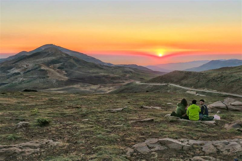 Golden Moments sunset  mountains  hike  camp  friends  sports  outdoors ...