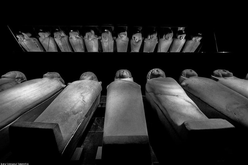 31 white marble sarcophagi Discovered in SidonPhoenician period ••••• (National Museum of Beirut)