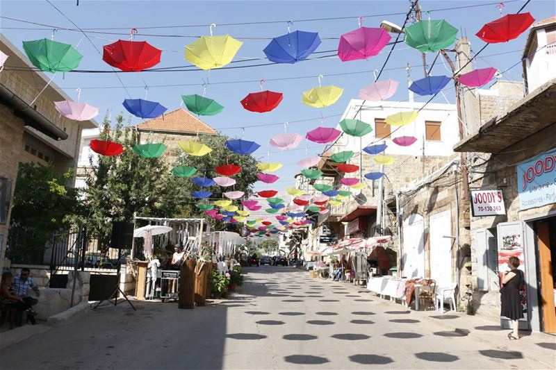 Flower Festival... flower  festival  summer  summer2017  umbrella  colors... (Hasroun)