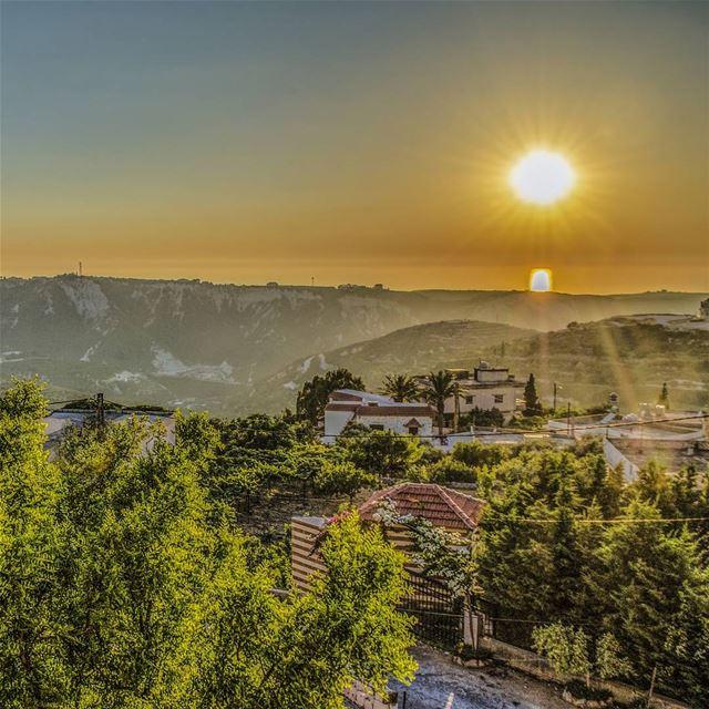 For there is no place like home 💛💚.............. Lebanon... (Kefraya Al Koura)