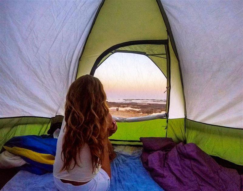I had a dream last night that I woke up smiling on the beach 😌 (Batroûn)
