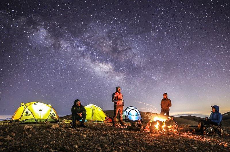 Summer nights and campfires ... 💫 (Qurnat as Sawda')