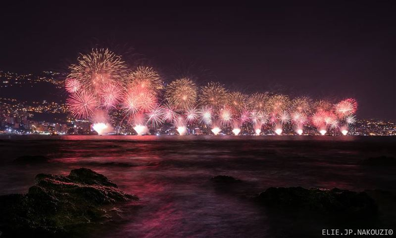 Life is all about special moments.. nikon  photography  fireworks  sea ...