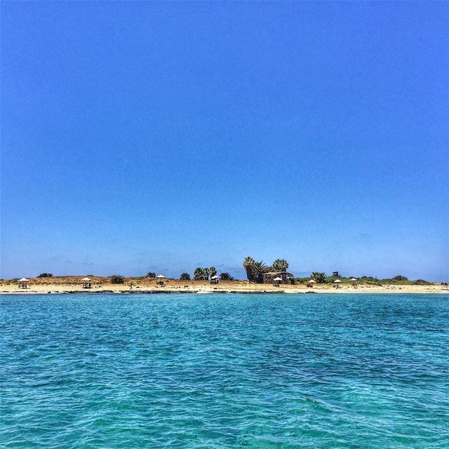 Rabbits Island 🐰- LiveLoveTripoli Summer Sea Sky LiveLoveLebanon ... (Tripoli, Lebanon)