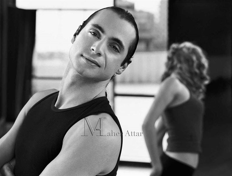 The Choreographer Sami El Hajj beirut paris portrait press artist ... (Lebanon)