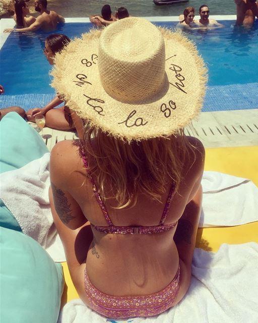 It's oh la la so hot 🏖👒👙🌞 irisbeachclub livelovelebanon zara ... (Iris Beach Club)