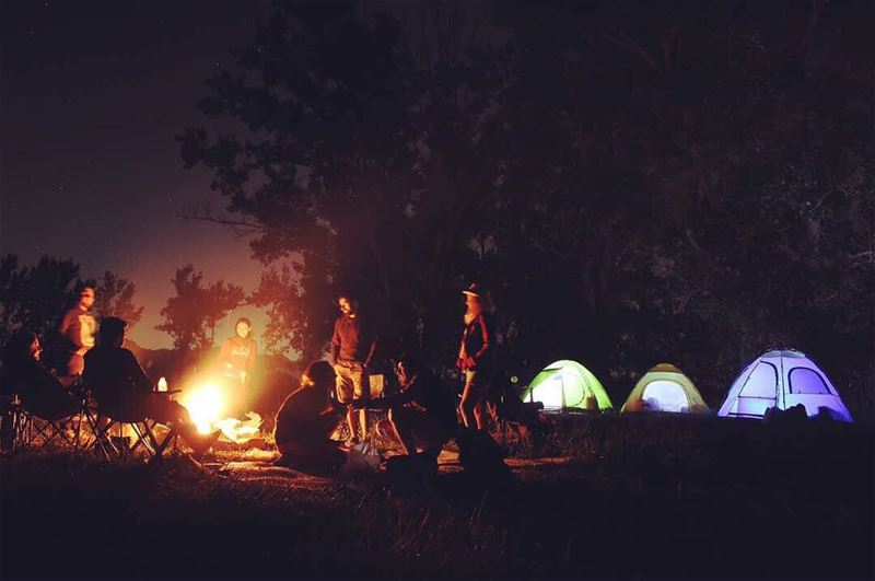 life is better by the fire 🔥 AwaketheSoul camping campinglife ... (El Laklouk, Mont-Liban, Lebanon)