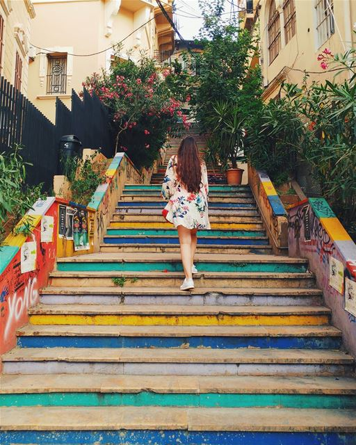 These stairs will never get old ❤