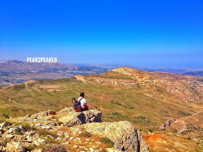 It's like this Hollywood sign but this is even better someday future ... (Sannin, Mont-Liban, Lebanon)
