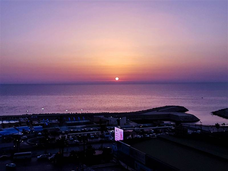 Sunset galore over my horizon  sunset  sunset_pics  sunset  ig_sunset ... (Cornish Rouché - Beirut)