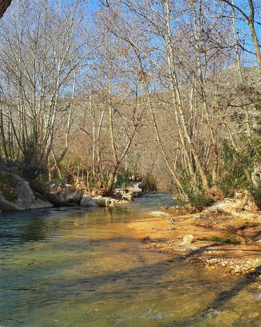 لا تطأ برجلك في الوحل وتَعجَب حين تتسخ قدميك حاصبيا نهر_الحاصباني 👌 📷 �