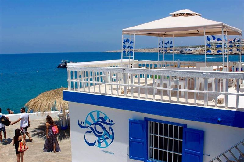 amazingplace bluewater clearwaterbeach blueworld whiteheaven ... (Ta7t El Ri7 - Anfeh)