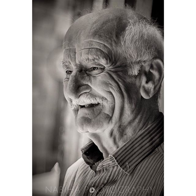 Portrait Time douma old_man beirut photography blue Lebanon ...