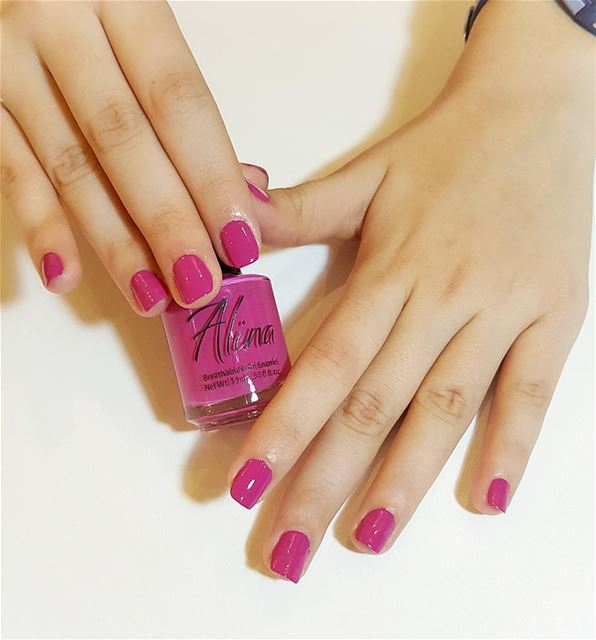 """Primo pink"" by alina breathable and organic nailpolish nailpolish ... (MUREX Beauty Therapy)"