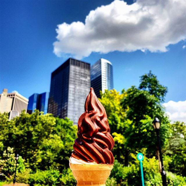 Keep your eyes on the ice cream and your feet on the ground --------------- (New York, New York)